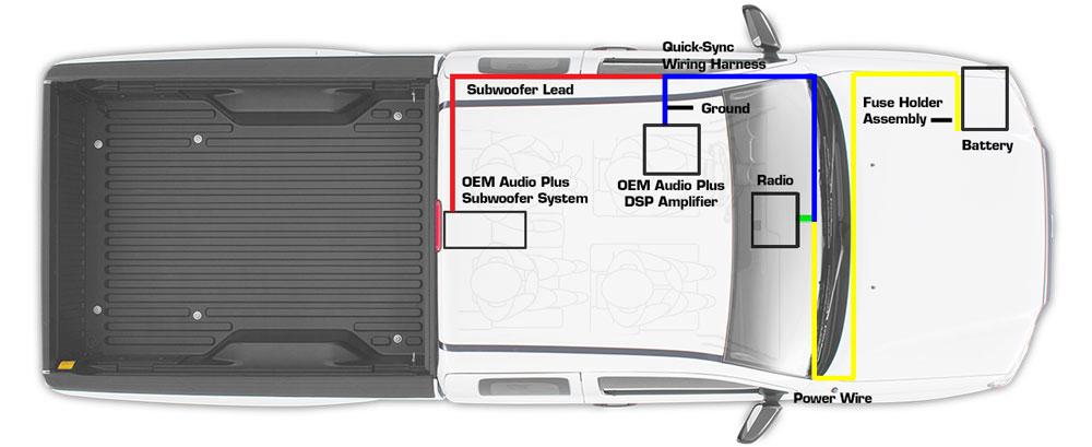 Tacoma (Access Cab) - OEM Audio Plus on