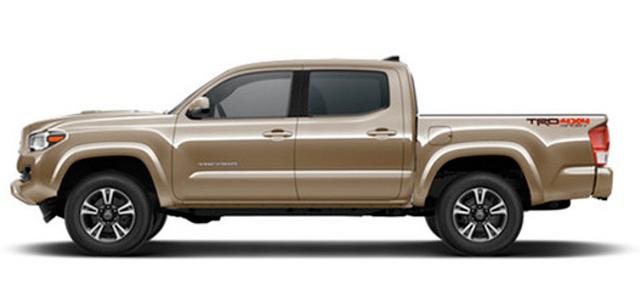 '16-Present Toyota Tacoma Double Cab