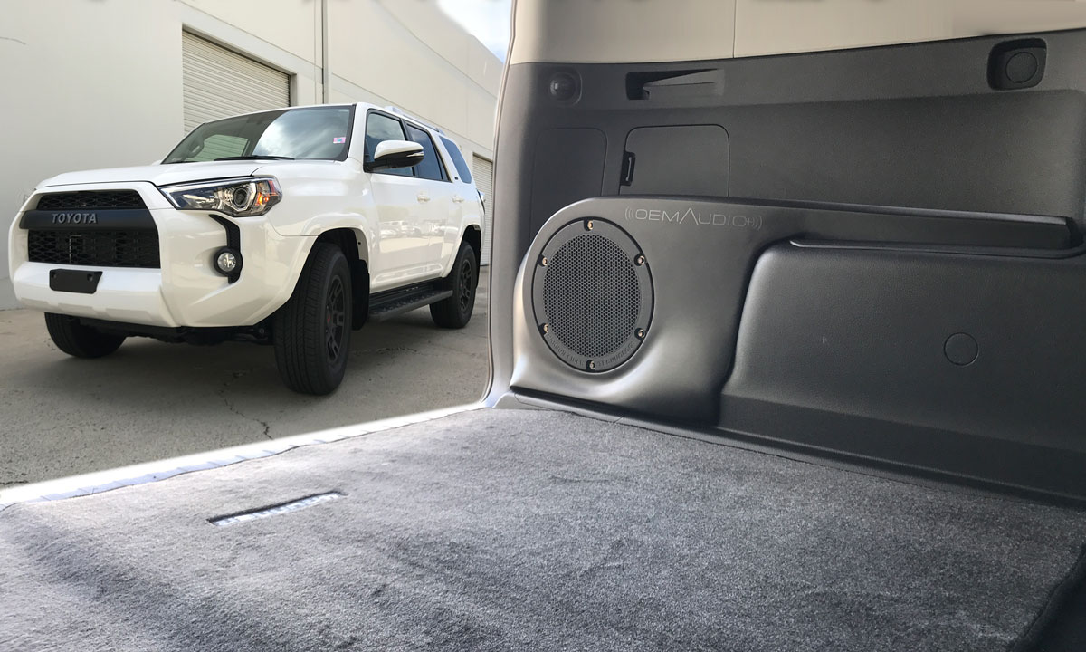 4runner custom sound system