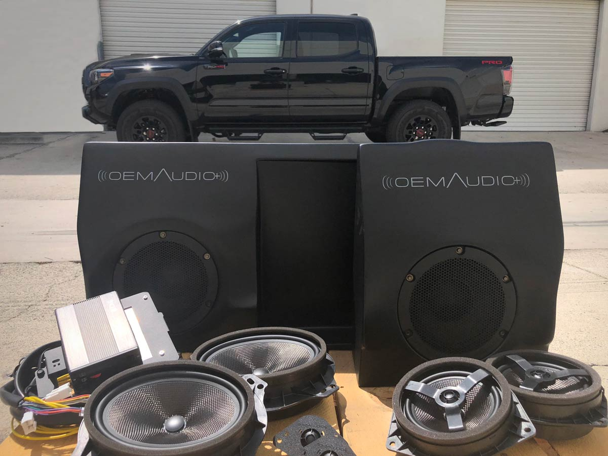 Oem Audio Plus >> Toyota Tacoma Reference 500 Oem Audio Plus