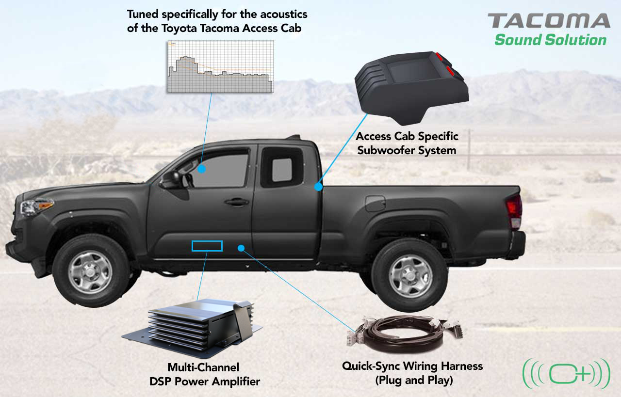 Toyota Tacoma Access Cab System 500 Oem Audio Plus