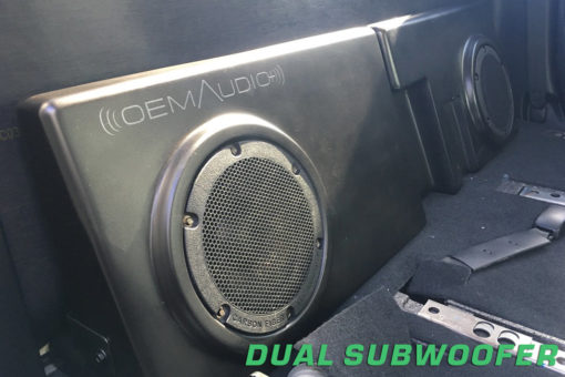 Tundra subwoofer, tundra audio, tundra sound quality
