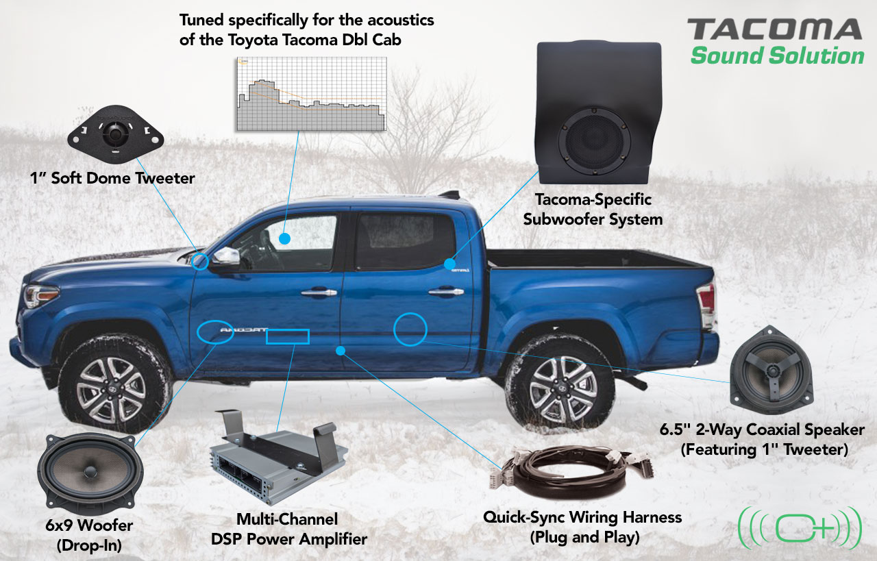 Tacoma Dbl Cab Oem Audio Plus Toyota Jbl Stereo Wiring Diagram 2011 Specific Subwoofer System