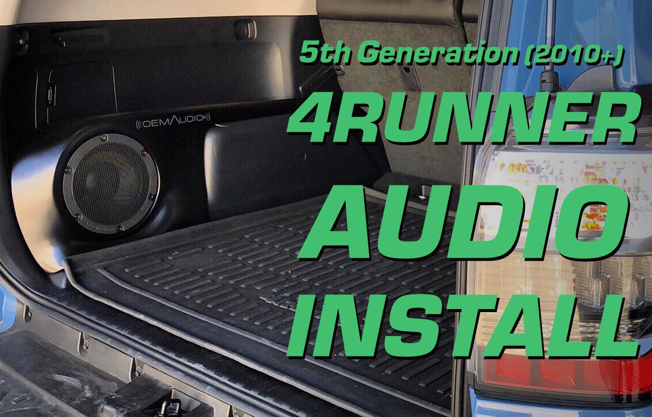 Installation - OEM Audio Plus